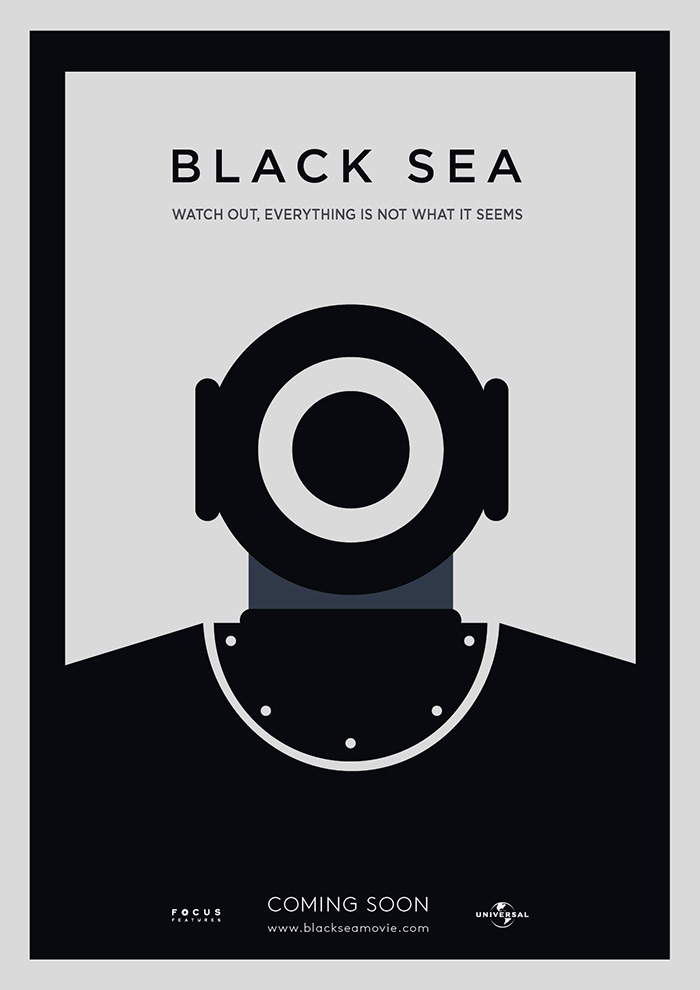 Black Sea. Cartel de Adri Rojas