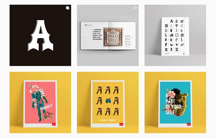 Mejores cuentas instagram diseño gráfico diseñadores