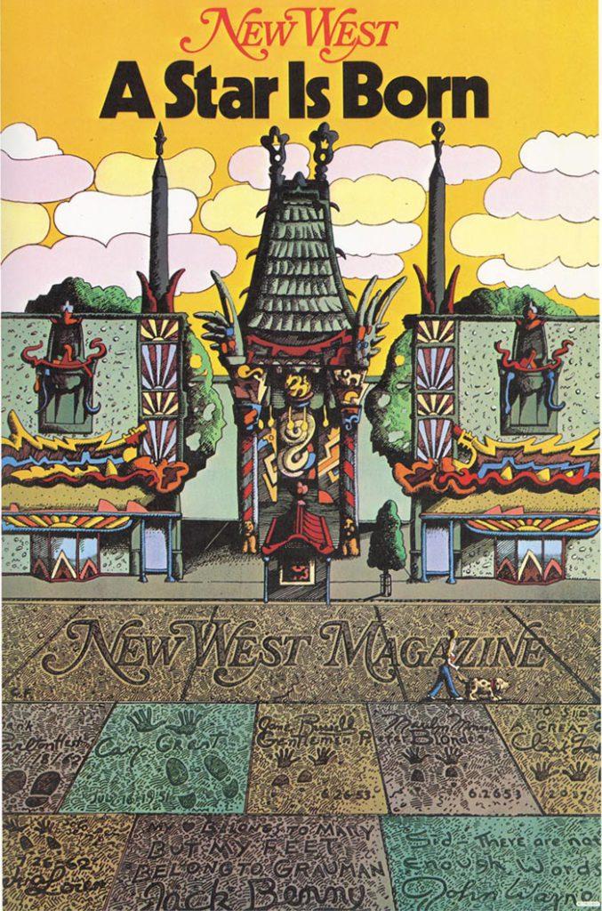 Milton Glaser New West Magazine