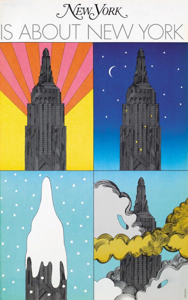 MiltonGlaser Posters ilustraciones new york