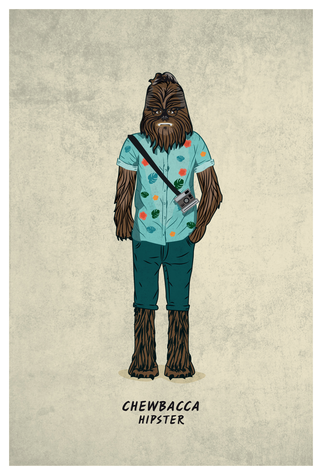 FREAK CHEWBACCA