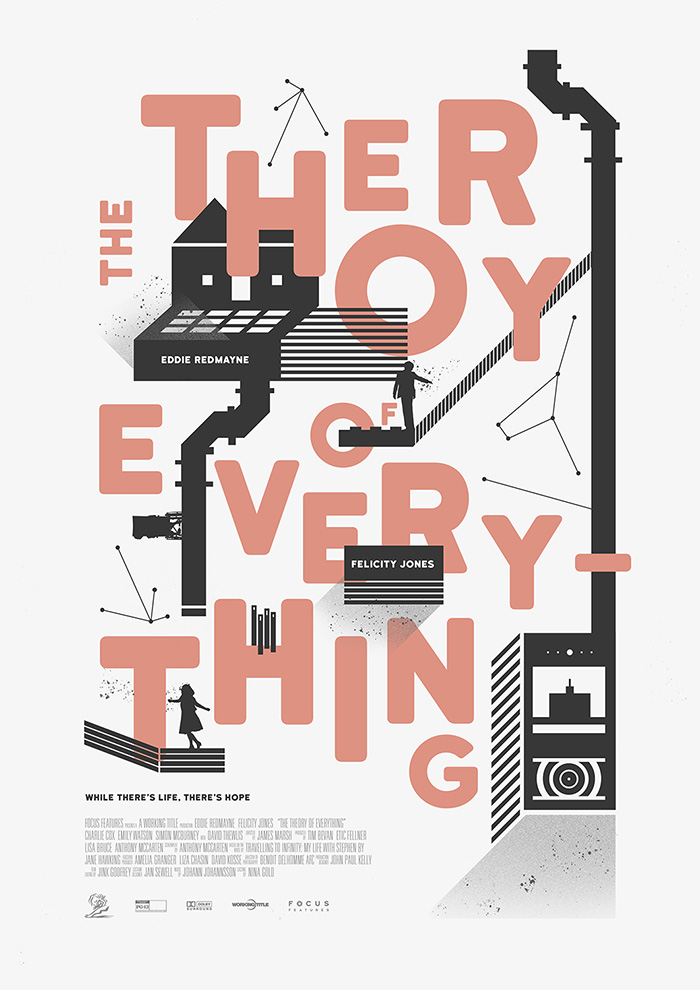 The Theory of Everything. Cartel de Juanka Campos