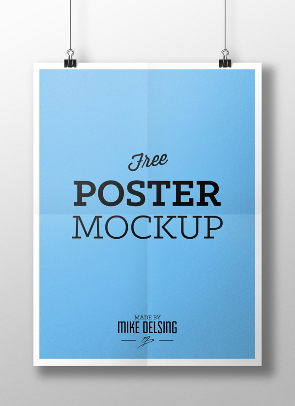 mockup poster, by Mike Delsing